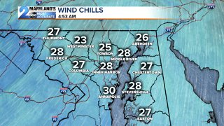 Feels Like the 20s this Morning