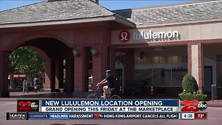 lululemon moving to new location at The Marketplace in Bakersfield