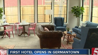 Germantown Inn Turned Into Hotel - Video
