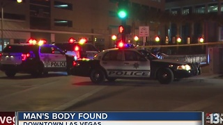 Police find man's body near railroad tracks - Video
