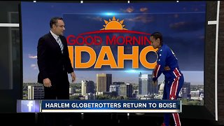 Harlem Globetrotters returning to Boise during World Tour - Video