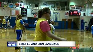 Swishes and Sign Language: St. Mary's providing opportunities for its student athletes