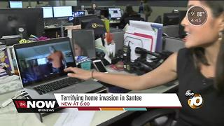 Coming Up: Terrifying Home Invasion in Santee - Video