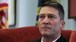 Ronny Jackson Withdraws His Nomination To Head VA