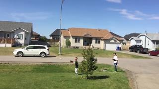 Young Boy's Hilarious Baseball Fail In Slow Motion - Video