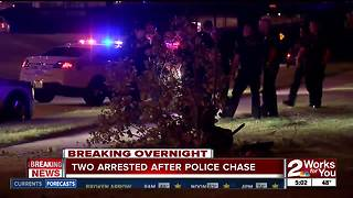 Driver in custody after leading police on chase - Video