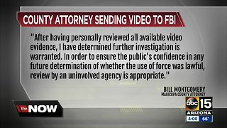 Maricopa County Attorney forwards Glendale tasing incident to FBI for review