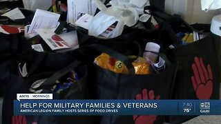 American Legion hosting food drives to help military families in need