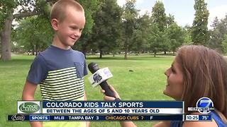Colorado Kids Talk Sports- Rockies Edition - Video
