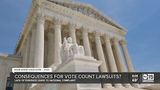 Potential consequences for vote count lawsuits