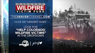 Help Colorado wildfire victims with all proceeds staying local through Denver7 Gives