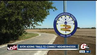 New trails added to connect neighborhoods in Town of Avon - Video