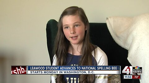 Leawood 7th grader heads to Scripps National Spelling Bee