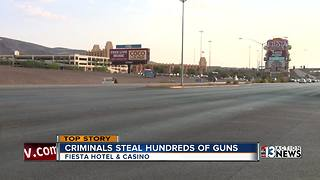 Trailer with 400 firearms stolen from Henderson casino parking lot