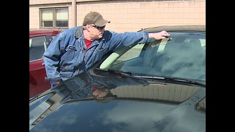 Elyria man angry after cars damaged by truck debris
