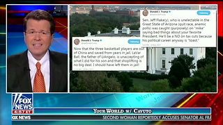 Cavuto: Trump's Tweets About LaVar Ball, Jeff Flake Were Not 'Human' - Video