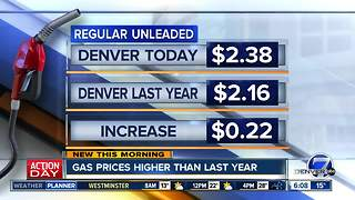 Gas prices are up - Video