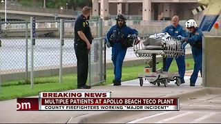 Several injured in major incident at TECO plant - Video