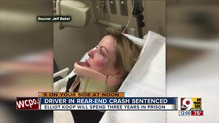 Emotional testimony in sentencing for crash near downtown Cincinnati - Video