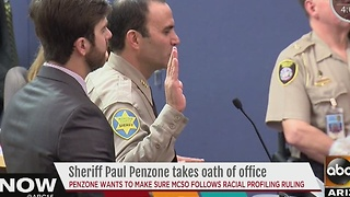 Paul Penzone takes Oath of Office - Video