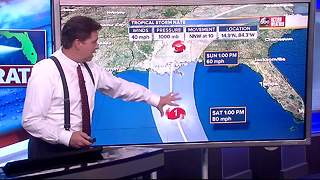 Tropical Storm Nate Forecast with Denis Phillips on Thursday, October 5, 2017 (7PM) - Video