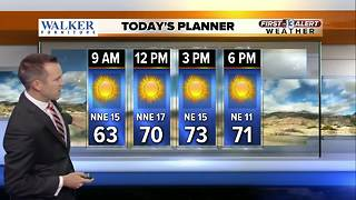 13 First Alert Weather for October 9 2017 - Video