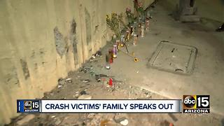 Phoenix crash victim's family speaks out - Video