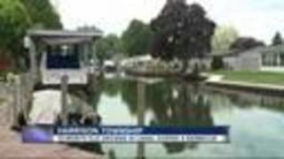 Toddler drowns after falling into canal behind metro Detroit home - Video