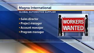 Magna International hiring in Troy and across the state - Video