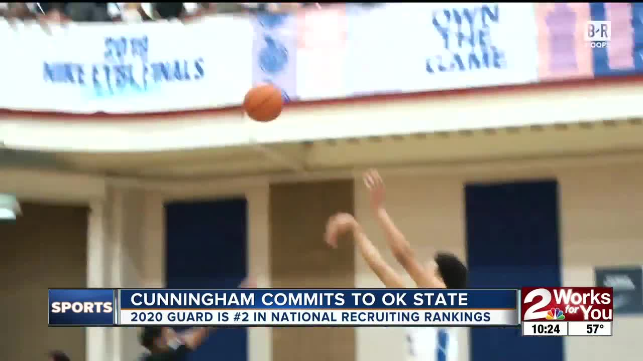 Cade Cunningham commits to Oklahoma State