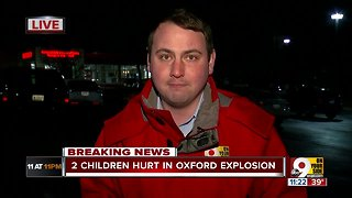 Two children wounded in Oxford explosion