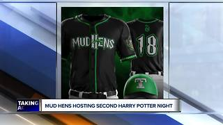 Toledo Mud Hens hosting Harry Potter night with Slytherin theme - Video