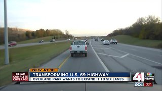 Overland Park wants to expand US 69 to 6 lanes