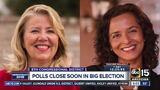 Valley election for District 8 getting national attention on election night - Video