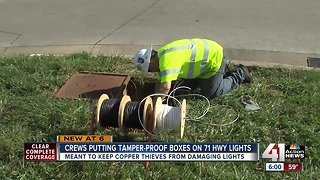 Copper thefts force MoDOT to replace lights