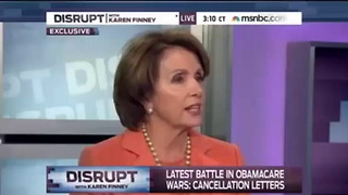 Pelosi: ObamaCare Implementation Has Gone