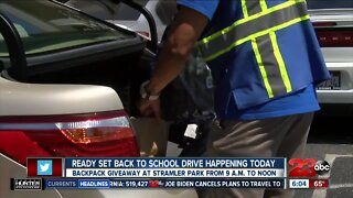 Ready Set Back to School Drive happening today