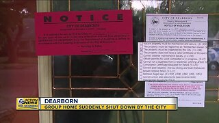 Group home suddenly shut down in Dearborn
