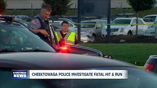 Cheektowaga police investigating deadly hit and run - Video