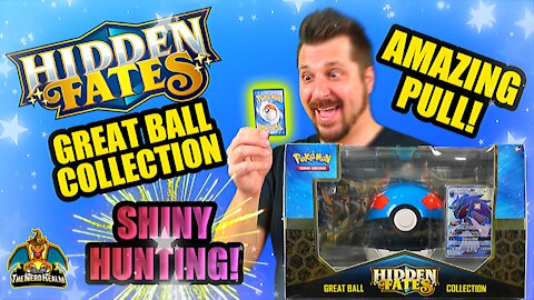 Hidden Fates Great Ball Collection | Shiny Hunting | Pokemon Opening