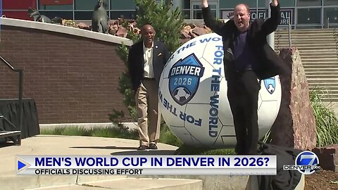Full news conference: Colorado pushes bid for World Cup