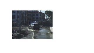 Montecito Residents Drive Through Flooded Neighborhood Following Storm - Video