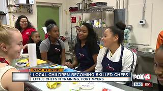 Kids are learning how to cook - Video