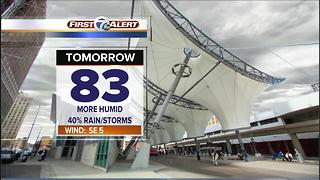 Mild and muggy tonight - Video