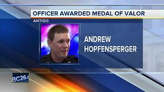 Officer from Wisconsin receives Public Safety Officer Medal of Valor - Video