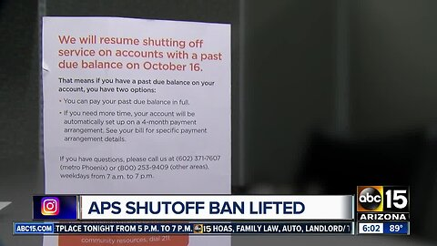 APS ban on energy shut-offs to end: What does that mean for you?