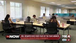 Desantis talks education plan in State of the State Address