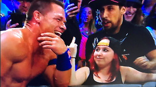 John Cena FIRES BACK at Fan Who Gave Him the Finger - Video