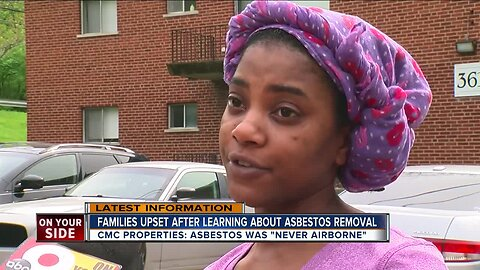 Hartwell tenants say they were surprised by asbestos removal
