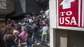 Migrant Caravan Rejects Mexican President's Offer To Settle In Mexico